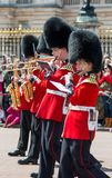 Coldstream guards band playing Stock Image