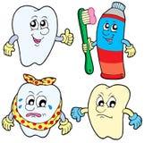 Coleção 1 do dente Fotos de Stock