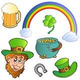 Coleção 3 do dia do St Patricks Foto de Stock