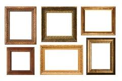 Coleção antiga do frame Imagem de Stock