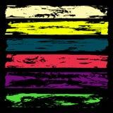 Coleção bonita colorida das bandeiras brilhantes para o projeto Foto de Stock Royalty Free