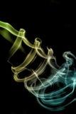 Coleção branca do fumo Imagem de Stock Royalty Free