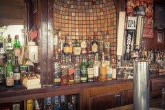 Coleção da aba dos espírito, a escocêsa e do uísque e da cerveja no irlandês imagens de stock royalty free