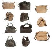 Coleção da bolsa da mulher Imagens de Stock Royalty Free