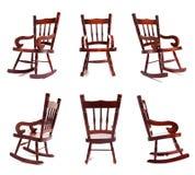 Coleção da cadeira de balanço Foto de Stock Royalty Free