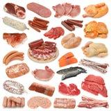 Coleção da carne Imagem de Stock Royalty Free