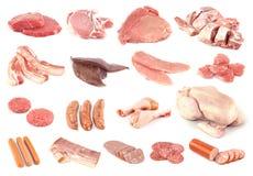 Coleção da carne Imagem de Stock