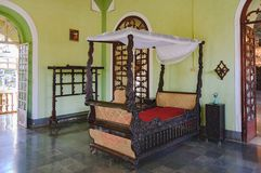 Coleção da casa de Menezes Braganza Pereira, Índia foto de stock royalty free