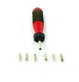 Coleção da chave de fenda isolada Foto de Stock