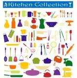 Coleção da cozinha Foto de Stock Royalty Free