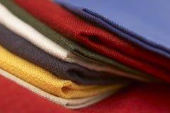 Coleção da matéria têxtil Foto de Stock Royalty Free