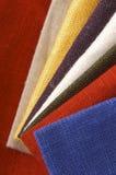 Coleção da matéria têxtil Imagens de Stock Royalty Free