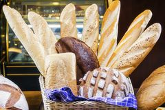 Coleção da pastelaria na pastelaria Fotos de Stock Royalty Free