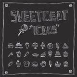 Coleção da tração do Sweetmeat Fotos de Stock