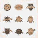Coleção das etiquetas Foto de Stock Royalty Free