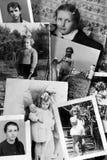 Coleção das fotos do vintage Imagens de Stock Royalty Free