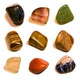 Coleção das gemas Foto de Stock
