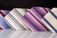 Coleção das gravatas Imagem de Stock Royalty Free
