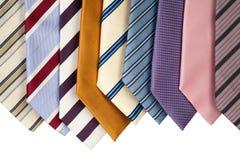 Coleção das gravatas que hanning Imagem de Stock Royalty Free
