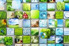 Coleção das imagens Imagem de Stock