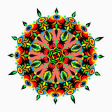 Coleção das mandalas Teste padrão redondo do ornamento Imagens de Stock