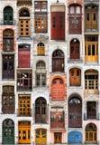 Coleção das portas Foto de Stock Royalty Free