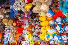 Coleção de animais peluches Foto de Stock Royalty Free