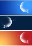 Coleção de bandeiras do espaço Fotografia de Stock Royalty Free