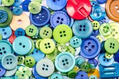 Coleção de botões velhos Imagem de Stock