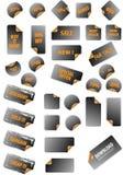 Coleção de etiquetas da promoção. Fotografia de Stock