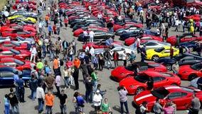 Coleção de Ferrari video estoque