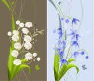 Coleção de flores da mola ilustração do vetor