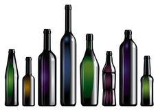 Coleção de frasco Imagem de Stock Royalty Free