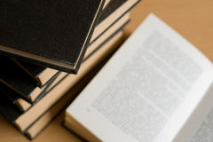 Coleção de livro Imagem de Stock