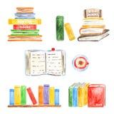 Coleção de livros Fotografia de Stock Royalty Free