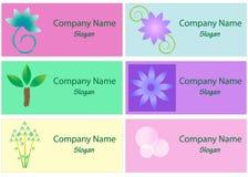 Coleção de logotipos dos termas e do bem-estar Foto de Stock Royalty Free