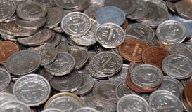 Coleção de moeda Imagem de Stock Royalty Free