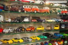 A coleção de morre modelos do carro do molde Fotografia de Stock Royalty Free