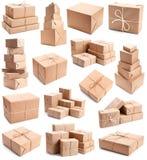Coleção de pacotes diferentes Foto de Stock
