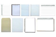 Coleção de papel Imagens de Stock