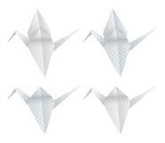 Pássaros de Origami ilustração stock