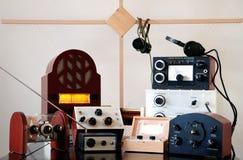 Coleção de rádio Imagens de Stock