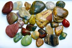 Coleção de rochas lustradas imagens de stock royalty free