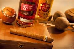 Coleção de símbolos cubanos Imagem de Stock