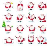 Coleção de Santa Imagens de Stock