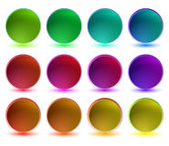 Coleção de teclas brilhantes Imagem de Stock
