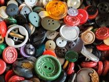 Coleção de teclas coloridas Imagem de Stock