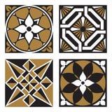 Coleção de testes padrões do Ornamental do vintage Imagem de Stock