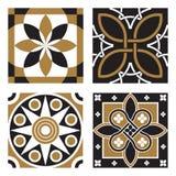Coleção de testes padrões do Ornamental do vintage Imagens de Stock