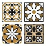 Coleção de testes padrões do Ornamental do vintage Fotos de Stock Royalty Free